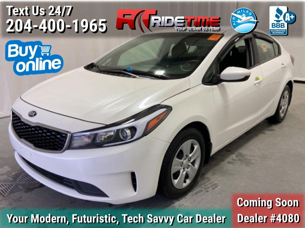 White[Snow White Pearl] 2018 Kia Forte LX Sedan - Automatic, SiriusXM, ALL CREDIT APPROVED