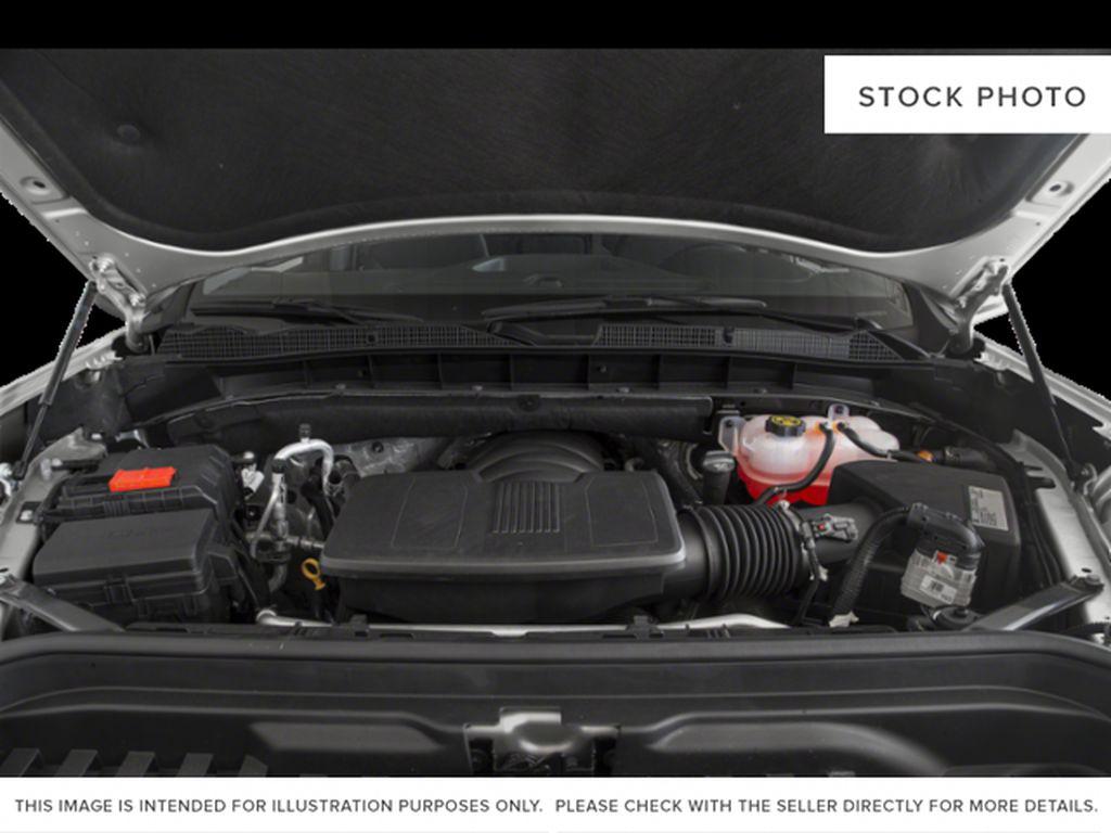 Silver[Quicksilver Metallic] 2021 GMC Sierra 1500 Engine Compartment Photo in Edmonton AB