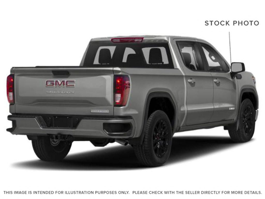 Silver[Quicksilver Metallic] 2021 GMC Sierra 1500 Right Rear Corner Photo in Edmonton AB