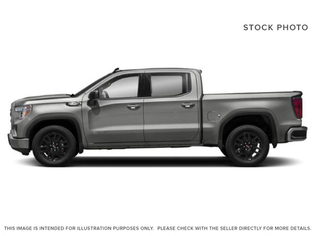 Silver[Quicksilver Metallic] 2021 GMC Sierra 1500 Left Side Photo in Edmonton AB