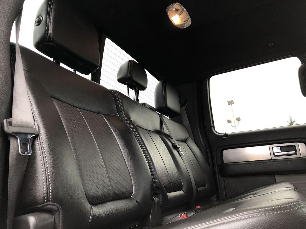 Black[Tuxedo Black Metallic] 2014 Ford F-150 Right Side Rear Seat  Photo in Edmonton AB