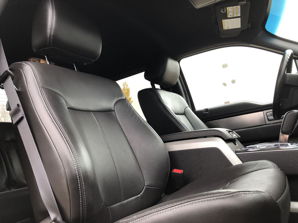Black[Tuxedo Black Metallic] 2014 Ford F-150 Right Side Front Seat  Photo in Edmonton AB