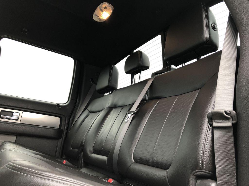 Black[Tuxedo Black Metallic] 2014 Ford F-150 Left Side Rear Seat  Photo in Edmonton AB