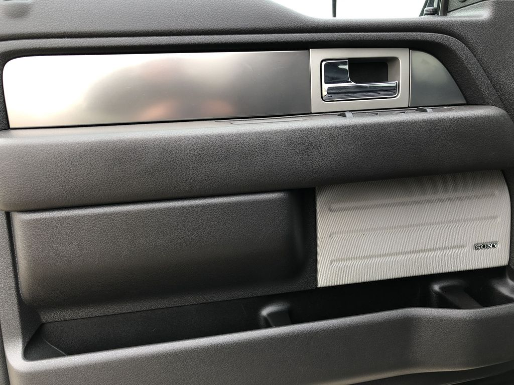 Black[Tuxedo Black Metallic] 2014 Ford F-150 Left Front Interior Door Panel Photo in Edmonton AB