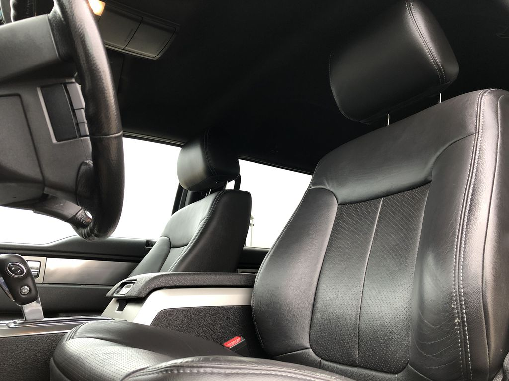 Black[Tuxedo Black Metallic] 2014 Ford F-150 Left Front Interior Photo in Edmonton AB