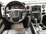 Black[Tuxedo Black Metallic] 2014 Ford F-150 Strng Wheel/Dash Photo: Frm Rear in Edmonton AB