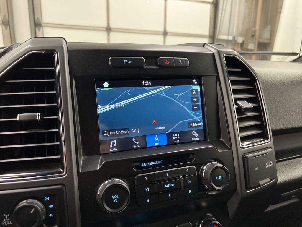 2019 Ford F-150 Navigation Screen Closeup Photo in Dartmouth NS