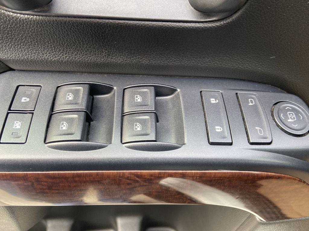 White[Summit White] 2016 GMC Sierra 1500 SLE  Driver's Side Door Controls Photo in Calgary AB