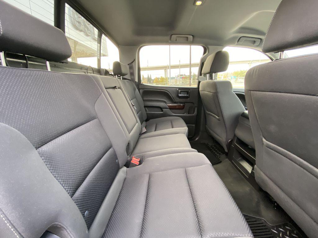 White[Summit White] 2016 GMC Sierra 1500 SLE Right Side Rear Seat  Photo in Calgary AB
