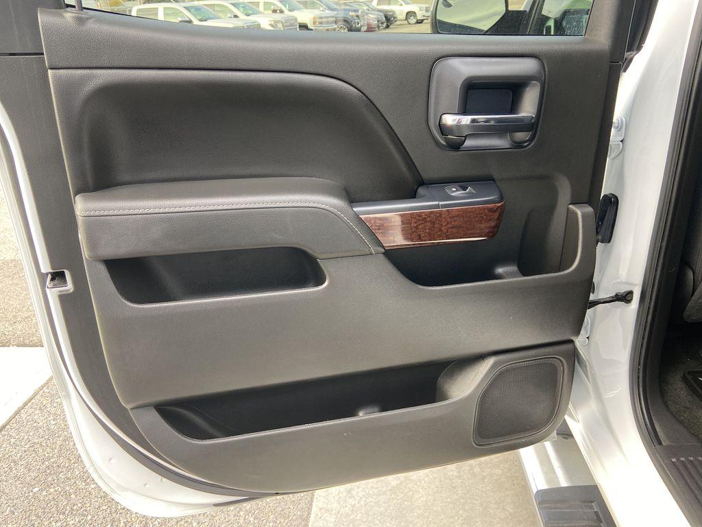 White[Summit White] 2016 GMC Sierra 1500 SLE Left Rear Interior Door Panel Photo in Calgary AB