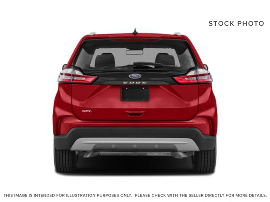 White[Oxford White] 2022 Ford Edge Rear of Vehicle Photo in Dartmouth NS