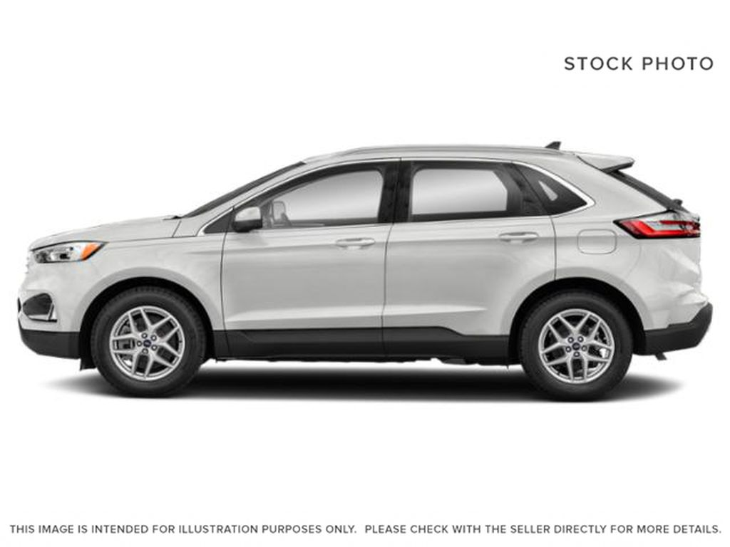 White[Oxford White] 2022 Ford Edge Left Side Photo in Dartmouth NS