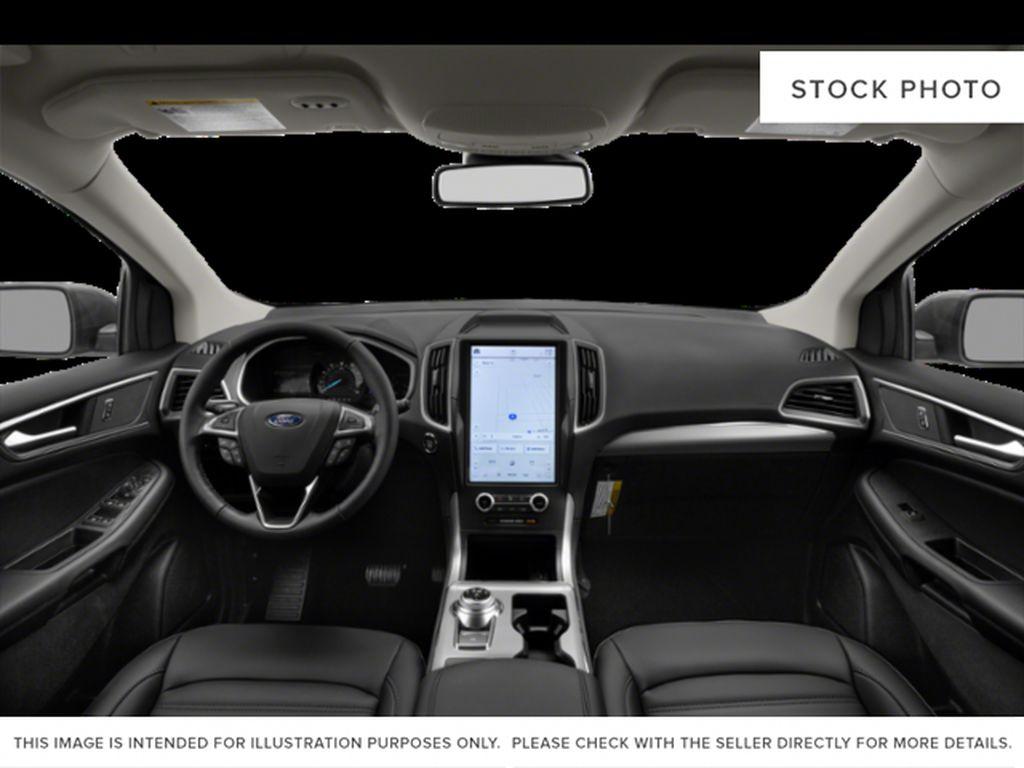 White[Oxford White] 2022 Ford Edge Central Dash Options Photo in Dartmouth NS