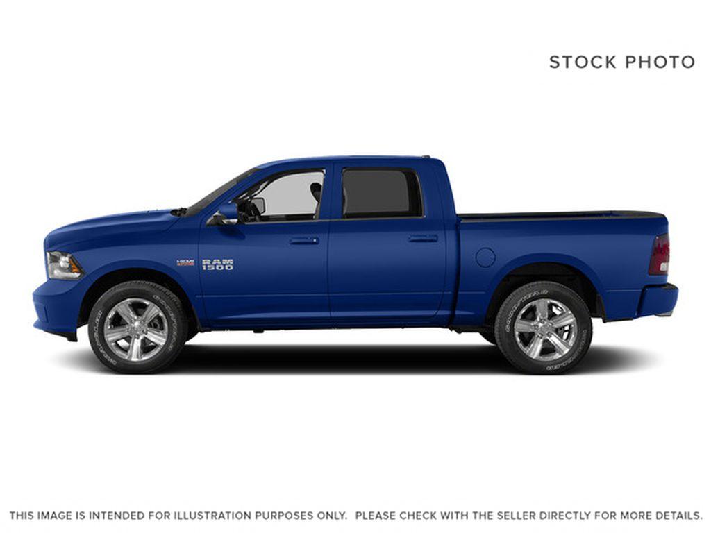 Blue[Blue Streak Pearl] 2015 Ram 1500 Left Side Photo in Fort Macleod AB
