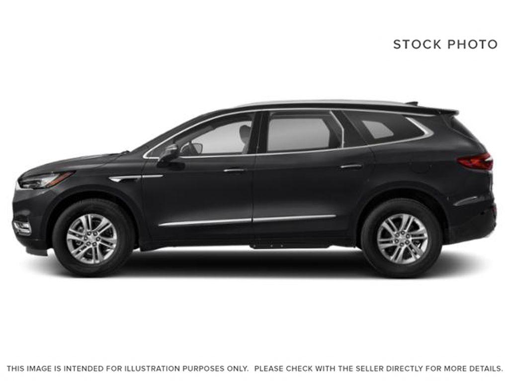Black[Ebony Twilight Metallic] 2021 Buick Enclave Left Side Photo in Medicine Hat AB