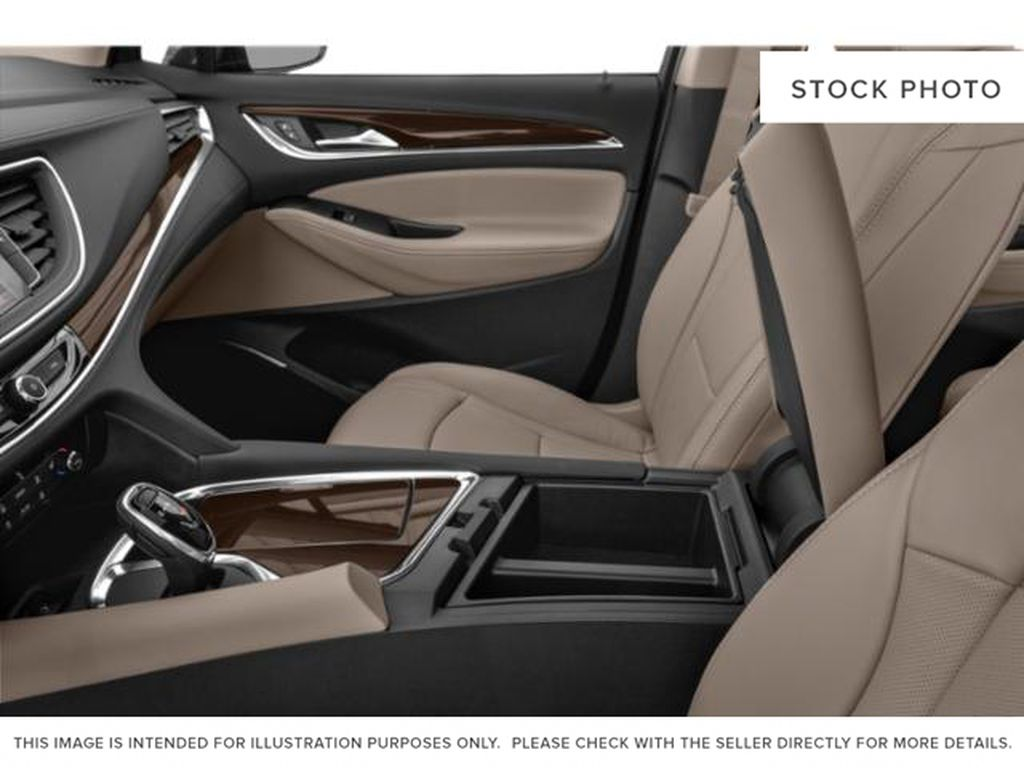 Black[Ebony Twilight Metallic] 2021 Buick Enclave Center Console Photo in Medicine Hat AB