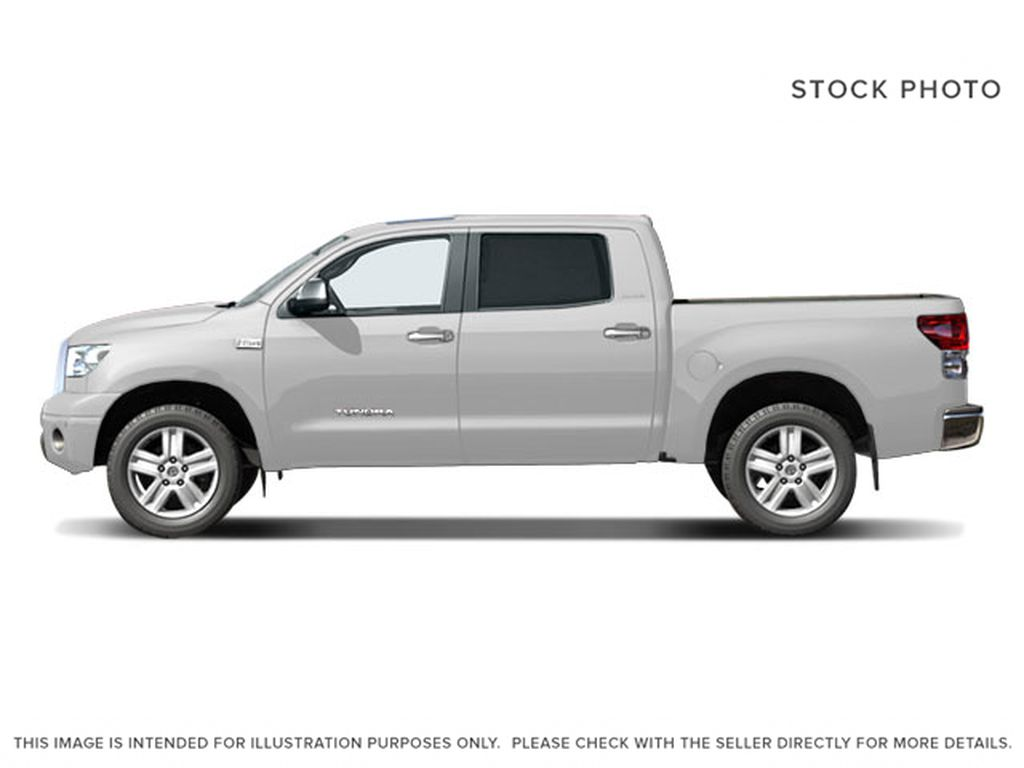 White[Alpine White] 2008 Toyota Tundra Left Side Photo in Fort Macleod AB