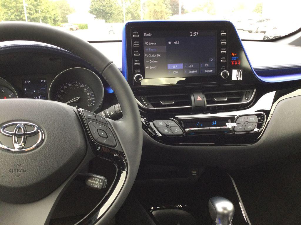 Brown[Bronze Oxide] 2021 Toyota C-HR Steering Wheel and Dash Photo in Brockville ON