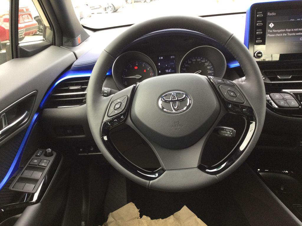 Brown[Bronze Oxide] 2021 Toyota C-HR Strng Wheel: Frm Rear in Brockville ON