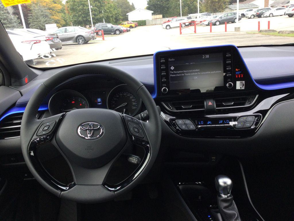 Brown[Bronze Oxide] 2021 Toyota C-HR Strng Wheel/Dash Photo: Frm Rear in Brockville ON