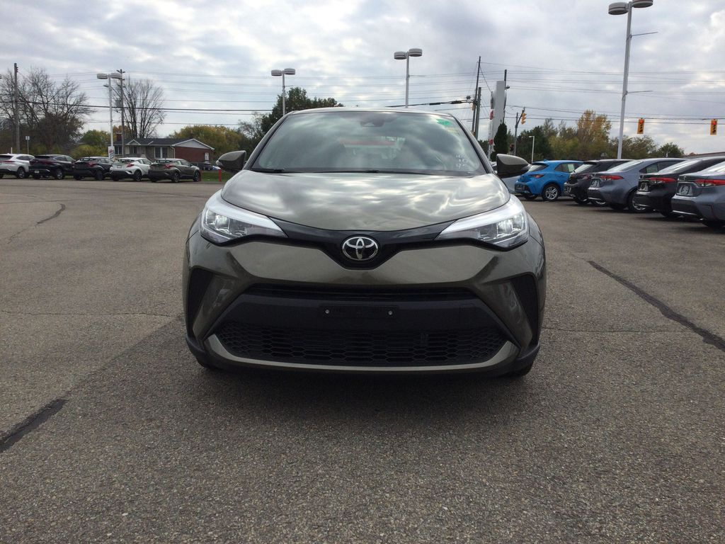 Brown[Bronze Oxide] 2021 Toyota C-HR Front Vehicle Photo in Brockville ON
