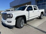 White[White Frost Tricoat] 2018 GMC Sierra 1500 Denali Left Front Head Light / Bumper and Grill in Calgary AB