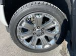 White[White Frost Tricoat] 2018 GMC Sierra 1500 Denali Left Front Rim and Tire Photo in Calgary AB