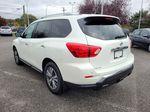 White[Glacier White] 2017 Nissan Pathfinder SV 4WD Left Rear Corner Photo in Kelowna BC