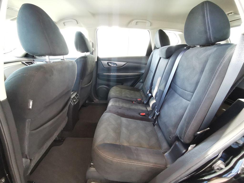Black[Super Black] 2015 Nissan Rogue Left Side Rear Seat  Photo in Edmonton AB