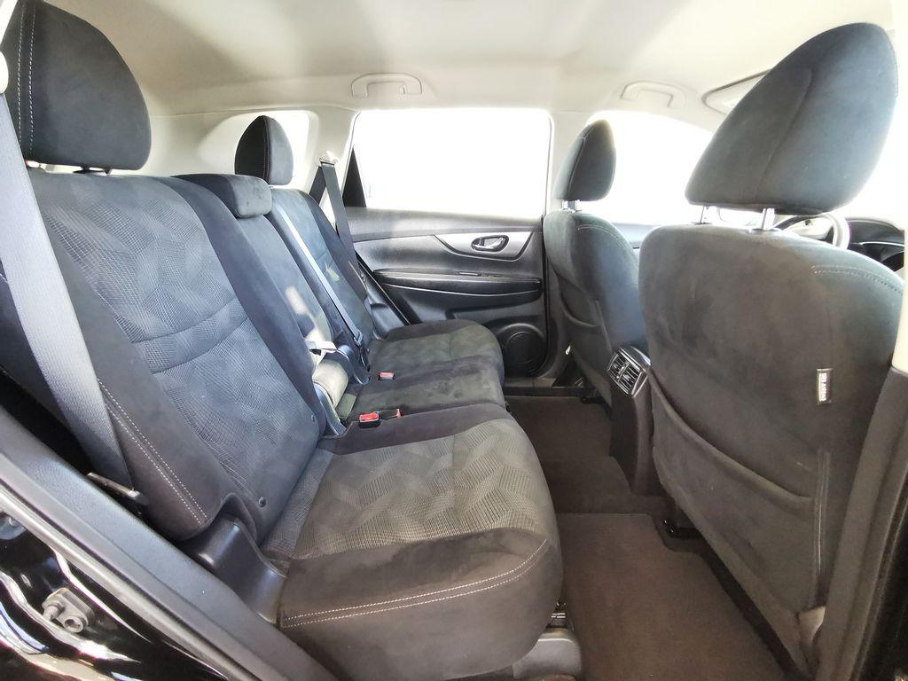 Black[Super Black] 2015 Nissan Rogue Right Side Rear Seat  Photo in Edmonton AB