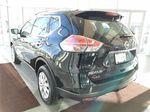Black[Super Black] 2015 Nissan Rogue Left Rear Corner Photo in Edmonton AB