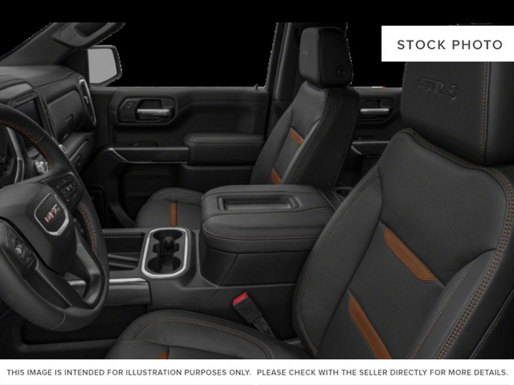 Onyx Black 2021 GMC Sierra 1500 Left Front Interior Photo in Oshawa ON