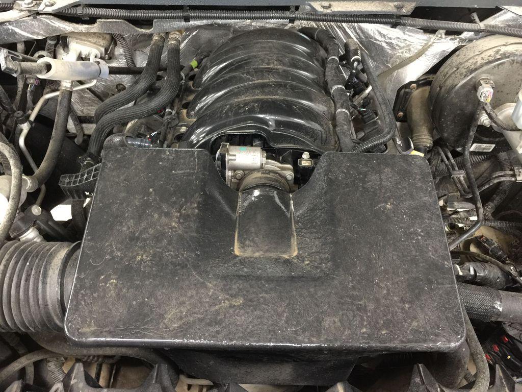 Black[Onyx Black] 2014 GMC Sierra 1500 SLE Engine Compartment Photo in Sherwood Park AB