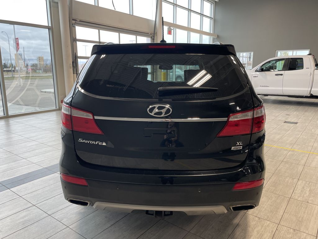 Black 2013 Hyundai Santa Fe GLS Trunk / Cargo Area Photo in Edmonton AB