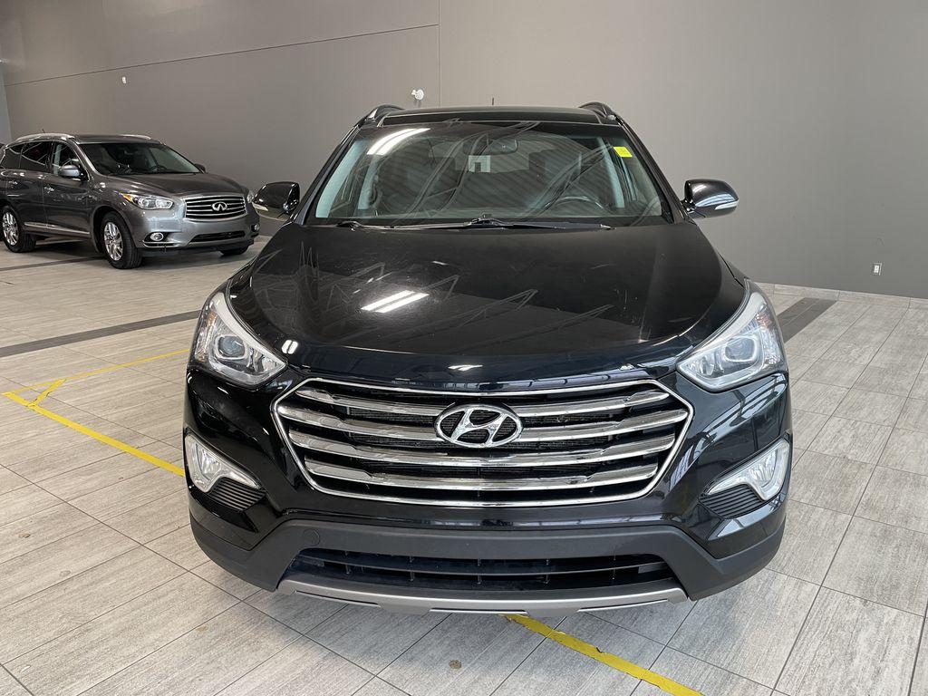Black 2013 Hyundai Santa Fe GLS Odometer Photo in Edmonton AB