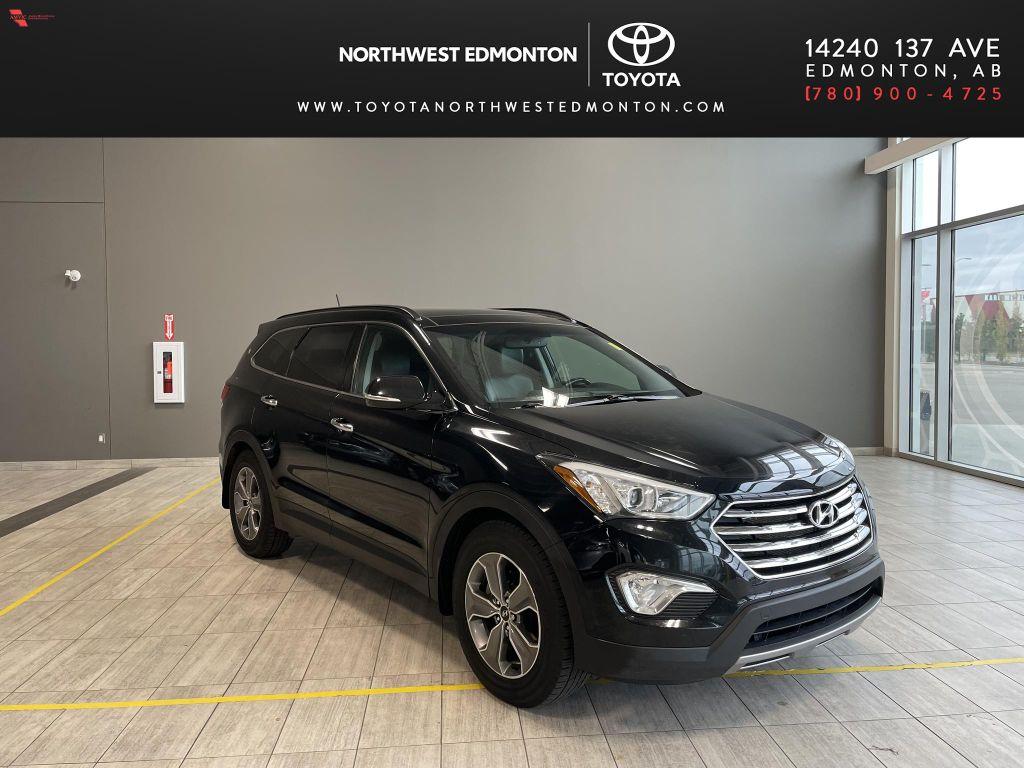 Black 2013 Hyundai Santa Fe GLS