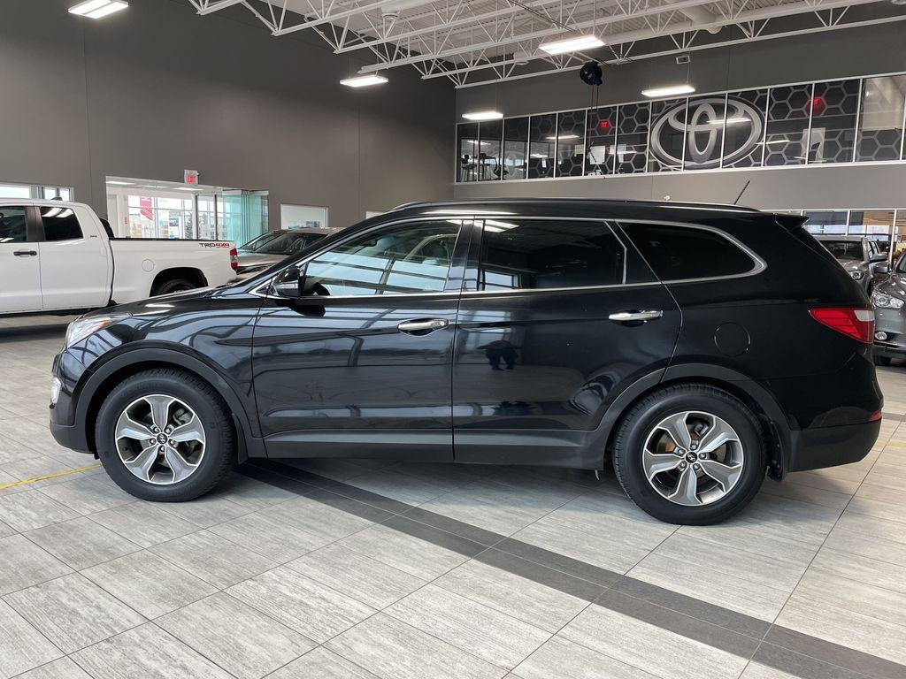 Black 2013 Hyundai Santa Fe GLS Left Side Photo in Edmonton AB