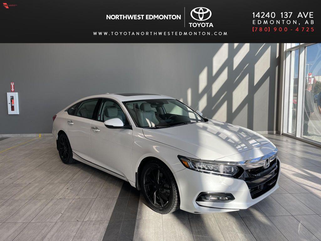 White 2020 Honda Accord Sedan Sport