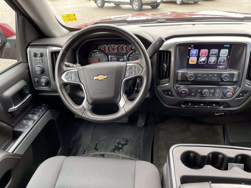 Red[Cajun Red Tintcoat] 2018 Chevrolet Silverado 1500 Left Rear Interior Door Panel Photo in Brandon MB