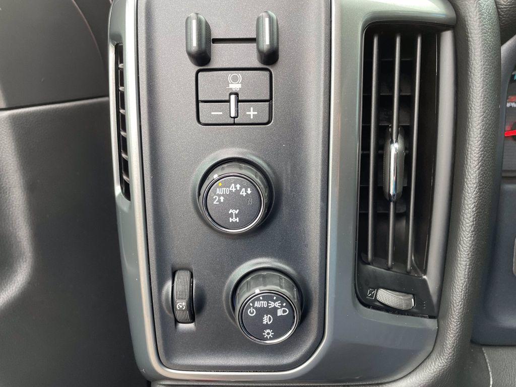 Red[Cajun Red Tintcoat] 2018 Chevrolet Silverado 1500 LR Door Panel Ctls Photo in Brandon MB