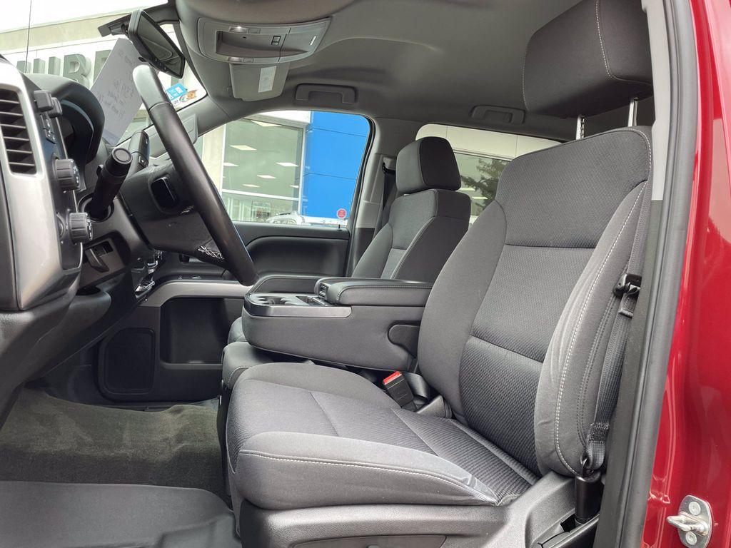 Red[Cajun Red Tintcoat] 2018 Chevrolet Silverado 1500 Trim Specific Photo in Brandon MB