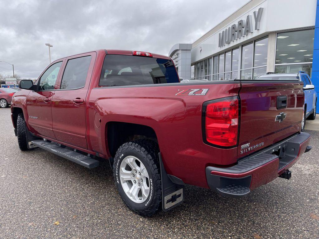 Red[Cajun Red Tintcoat] 2018 Chevrolet Silverado 1500 Left Side Photo in Brandon MB
