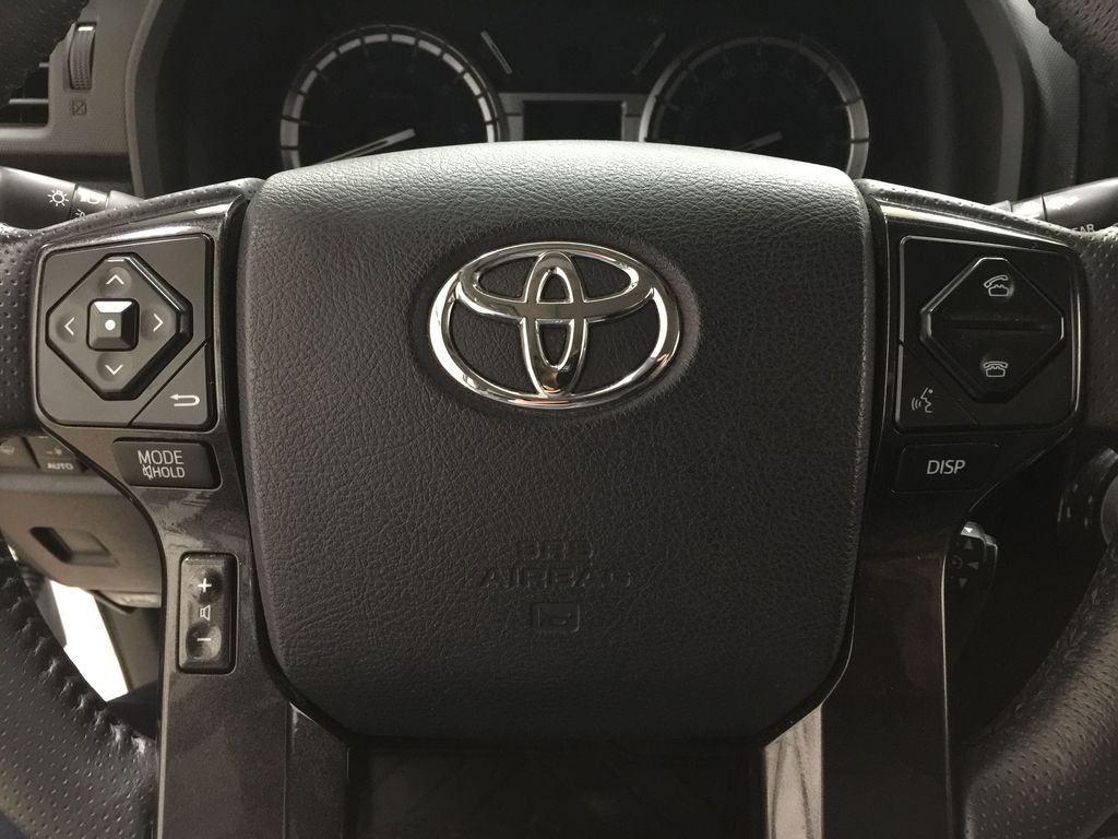 White[Blizzard Pearl] 2019 Toyota 4Runner Nightshade Steering Wheel and Dash Photo in Sherwood Park AB