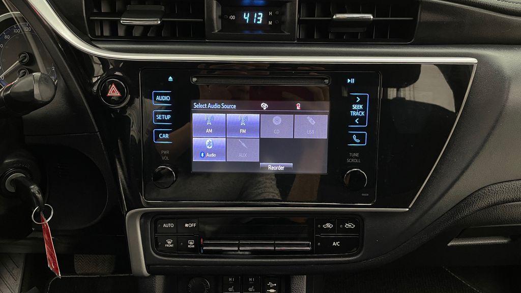 Blue[Galactic Aqua Mica] 2018 Toyota Corolla LE - Corolla Upgrade Package w/ Sunroof, Alloys Additional Photo 3 in Winnipeg MB
