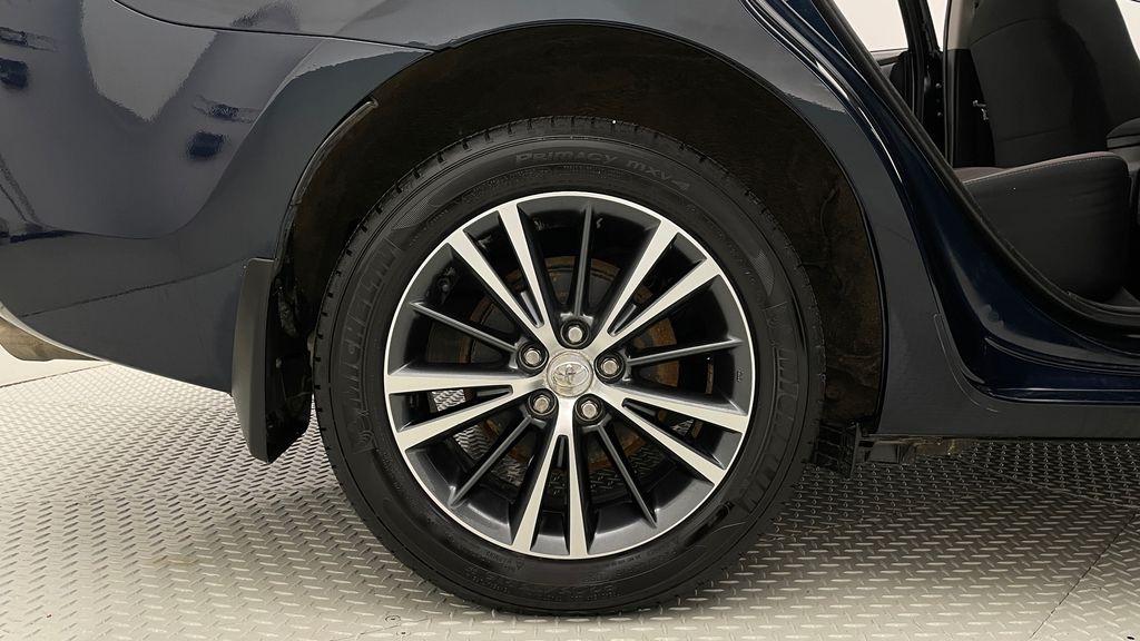 Blue[Galactic Aqua Mica] 2018 Toyota Corolla LE - Corolla Upgrade Package w/ Sunroof, Alloys Right Rear Rim and Tire Photo in Winnipeg MB