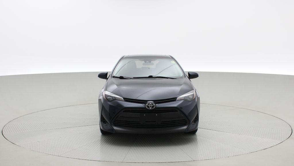 Blue[Galactic Aqua Mica] 2018 Toyota Corolla LE - Corolla Upgrade Package w/ Sunroof, Alloys Front Vehicle Photo in Winnipeg MB