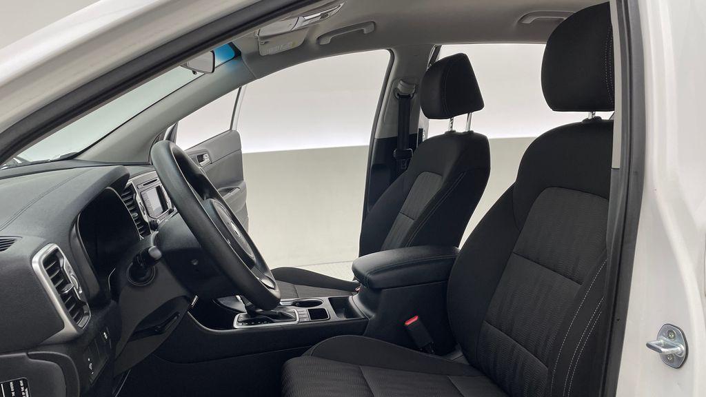 White[Snow White Pearl] 2019 Kia Sportage LX AWD - Heated Seats, Backup Camera, Bluetooth Left Front Interior Photo in Winnipeg MB