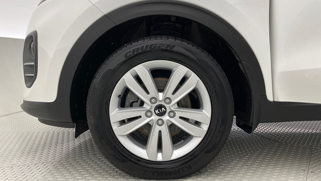 White[Snow White Pearl] 2019 Kia Sportage LX AWD - Heated Seats, Backup Camera, Bluetooth Left Front Rim and Tire Photo in Winnipeg MB