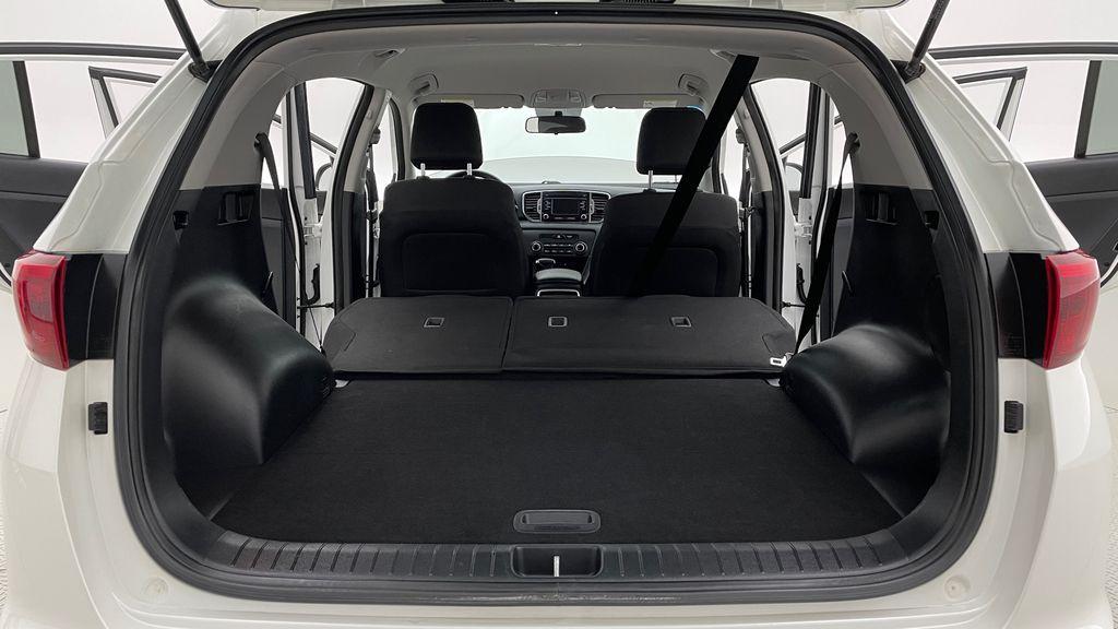 White[Snow White Pearl] 2019 Kia Sportage LX AWD - Heated Seats, Backup Camera, Bluetooth Rear Seat: Cargo/Storage Photo in Winnipeg MB