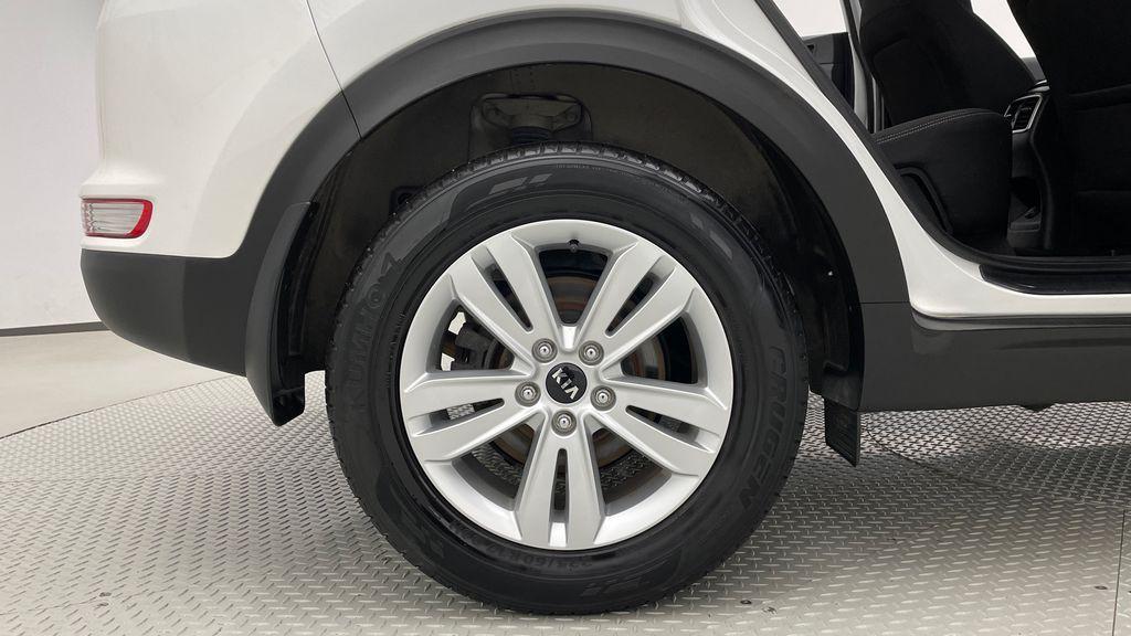 White[Snow White Pearl] 2019 Kia Sportage LX AWD - Heated Seats, Backup Camera, Bluetooth Right Rear Rim and Tire Photo in Winnipeg MB